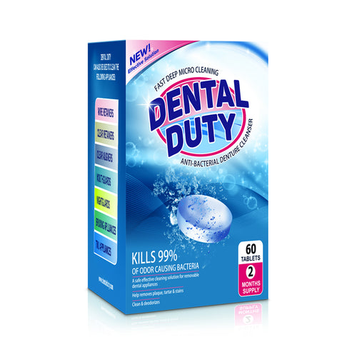 120 Denture Cleaner Cleaning Tablets (4 Months Supply)