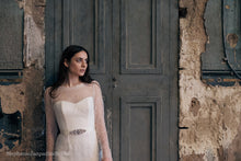 Stephanie Jacqueline Bridal styled photoshoot at Asylum chapel with Stephanie Allin dress and Arabella Belt