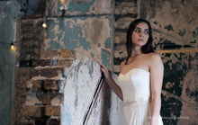 Stephanie Jacqueline Bridal styled photoshoot at Asylum chapel with Stephanie Allin dress and Amelia Belt