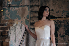 Stephanie Jacqueline Bridal styled photoshoot at Asylum chapel with Stephanie Allin dress and Aphrodite Belt