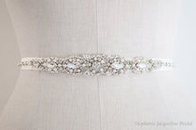 Agatha hand embellished bridal belt