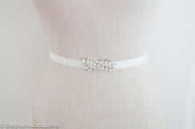 Aimee hand beaded small bridal belt