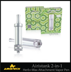 Airistank 2-in-1 Chilim Dry Herb+Wax Attachment Vapor Pen
