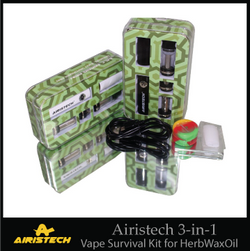 Airistech 3-in-1 Vaporizer Pen for Herb/Wax/Oil (AS-1)