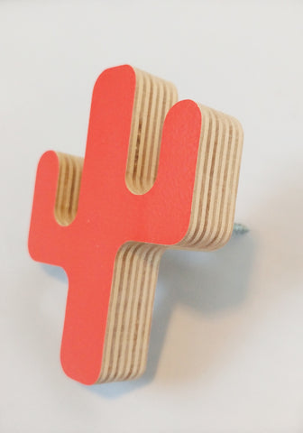 Cactus Wall Hook - WoodsyWorld