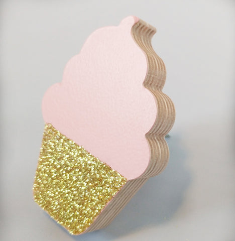 Cupcake Wall Hook - WoodsyWorld