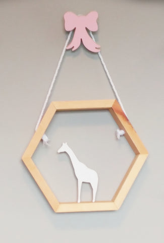 Ribbon Bow Wall Hook - WoodsyWorld
