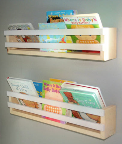 Book Shelf- Double Strip - WoodsyWorld