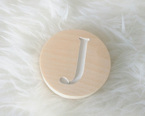 Personalized circle wall hook - WoodsyWorld