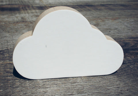 Cloud Wall Hook - WoodsyWorld