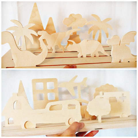 Pretend Playset- Automobile - WoodsyWorld