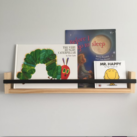 Book Shelf- single strip - WoodsyWorld