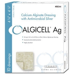 Algicell Ag Antimicrobial Silver Dressing 4