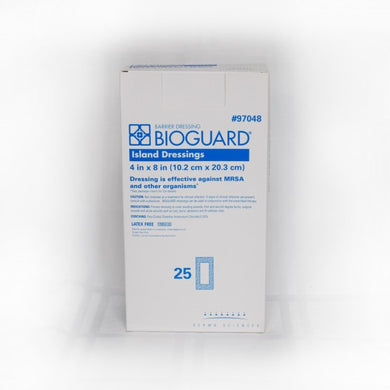 Bioguard Adhesive Barrier Island Dressing 4