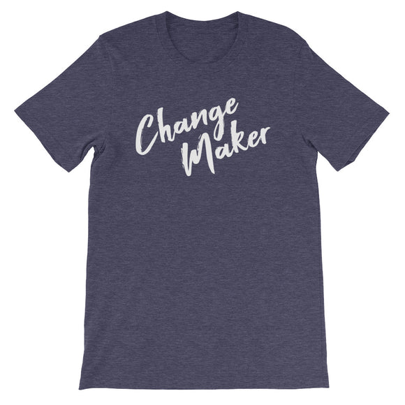 Change Maker Tee | White Text
