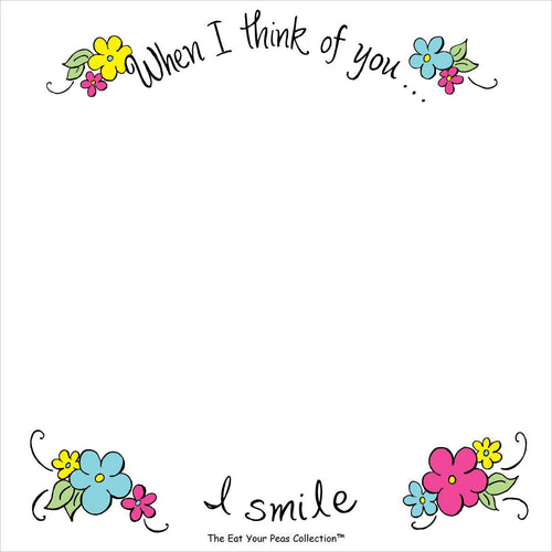 Smile - Sweet Saying's Notepad