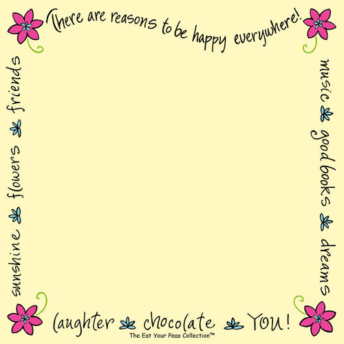 Happy - Sweet Sayings Notepad
