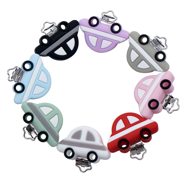 Les clips silicone voiture