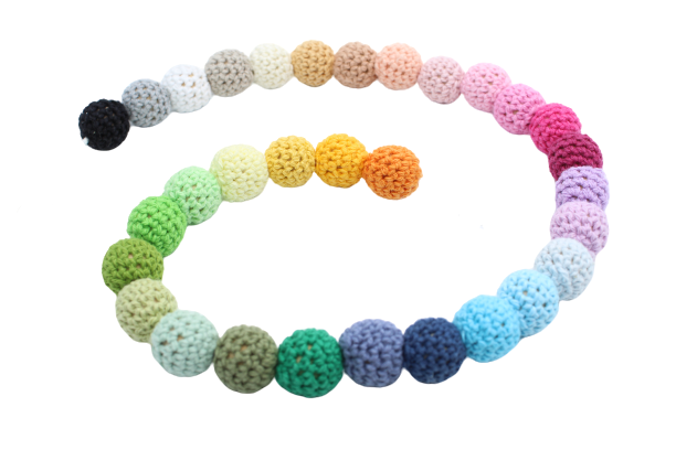 Perle en crochet 17mm