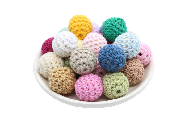 Perle en crochet 20mm