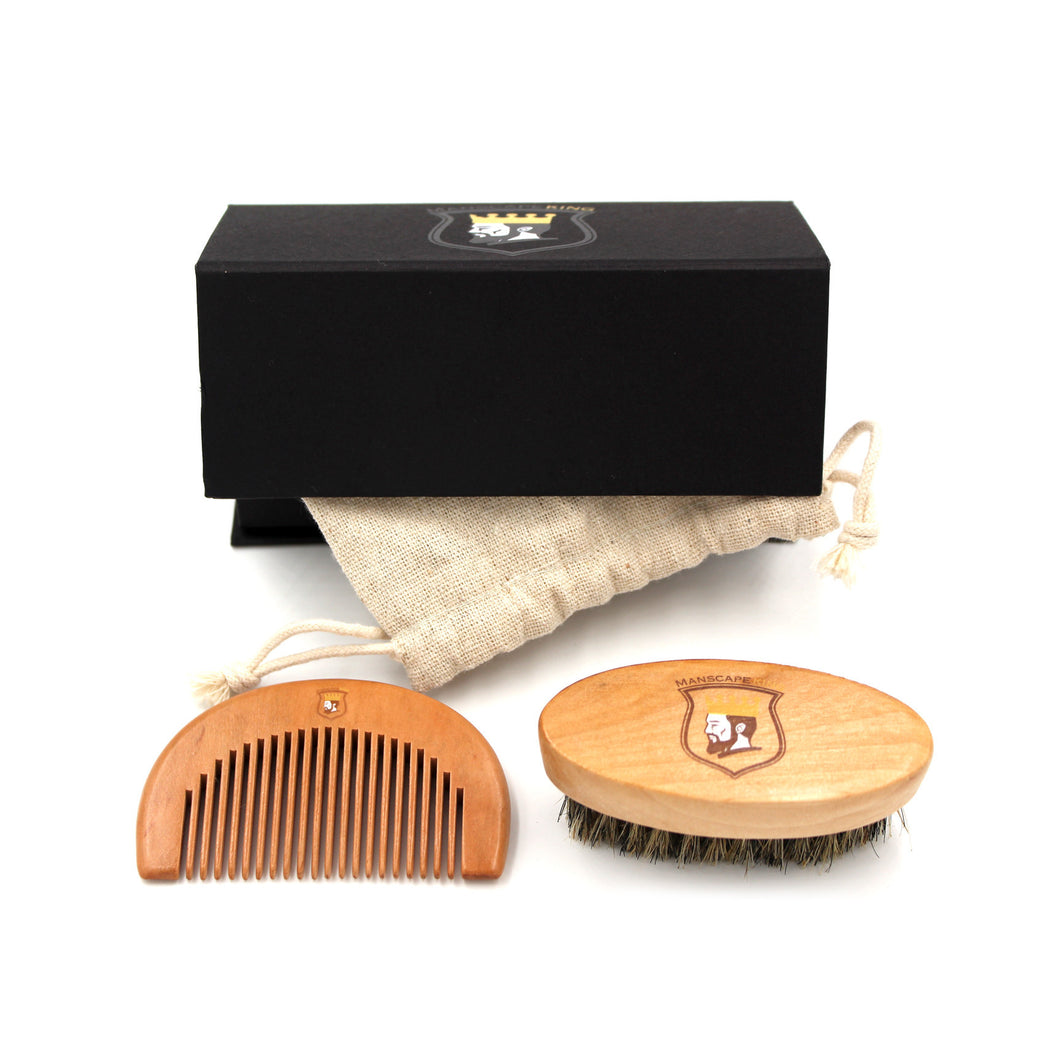 Manscape King™ Beard Comb Kit