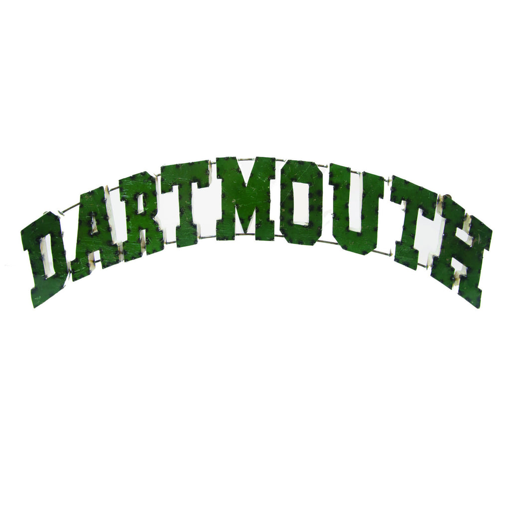 "Dartmouth College ""Dartmouth"" Recycled Metal Wall Decor"