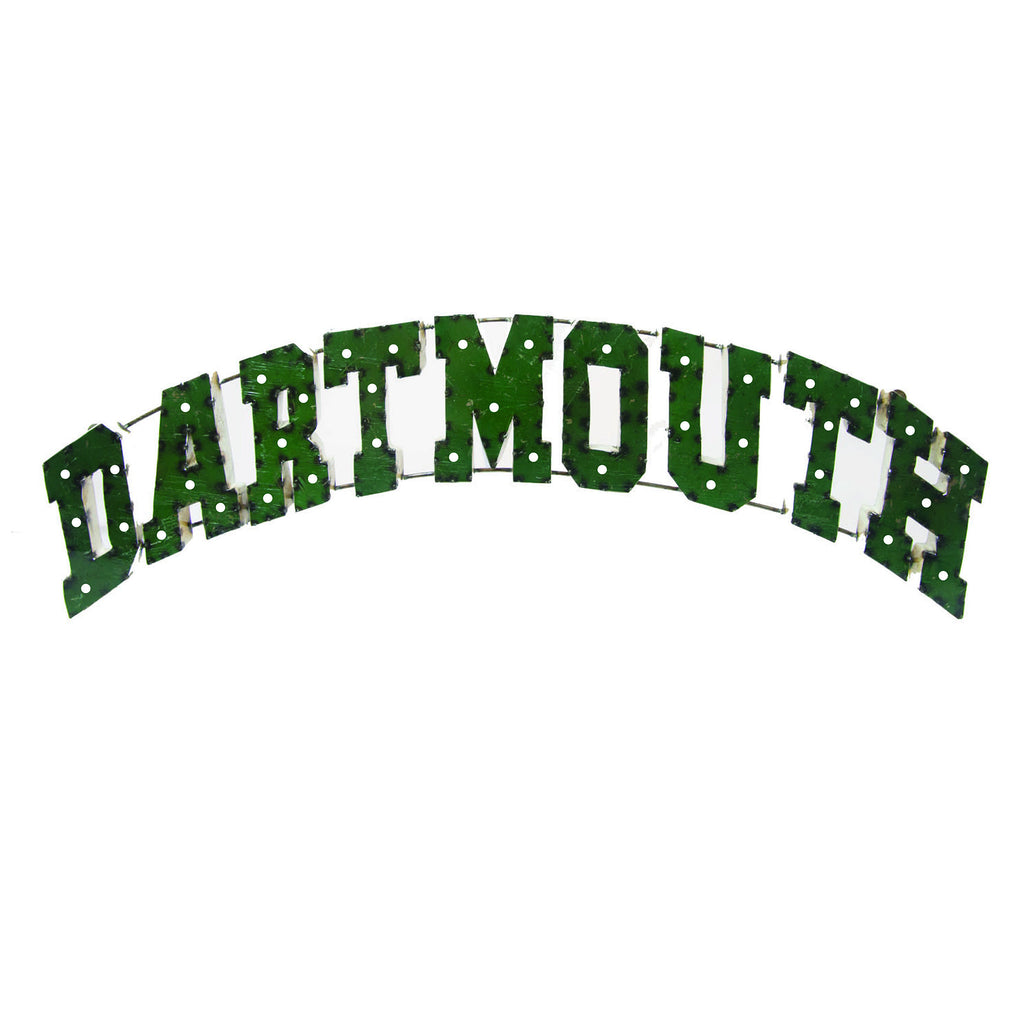 "Dartmouth College ""Dartmouth"" Lighted Recycled Metal Wall Decor"