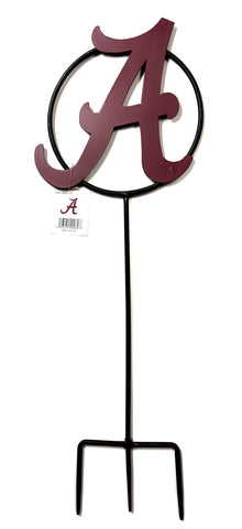 "University of Alabama ""A"" Wrought Iron Yard Decor"