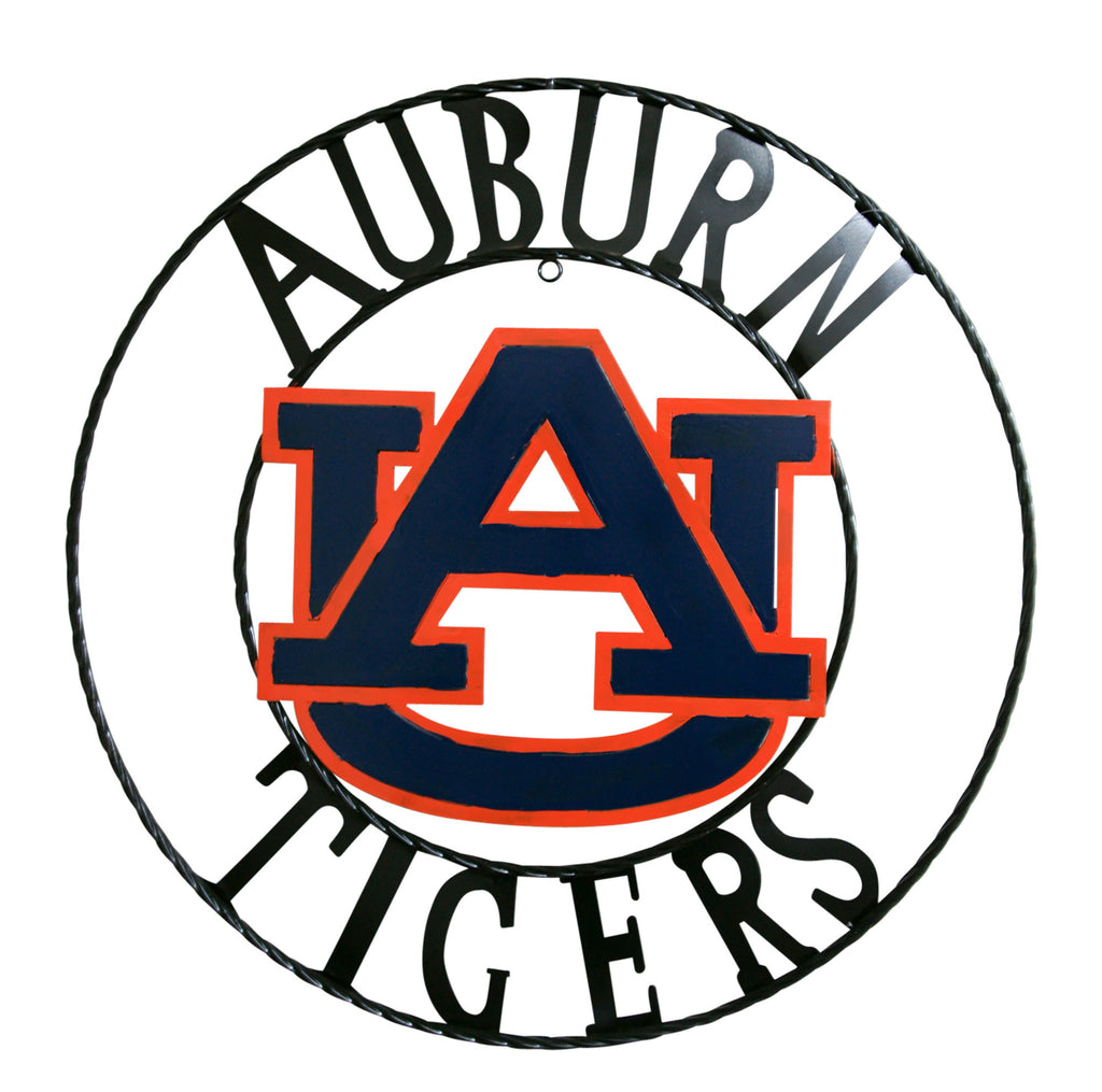 Auburn University Tigers Wrought Iron Wall Decor