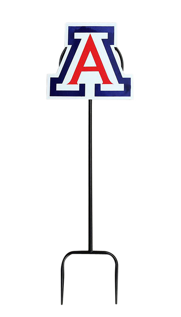 University of Arizona Logo Wrought Iron Yard Decor