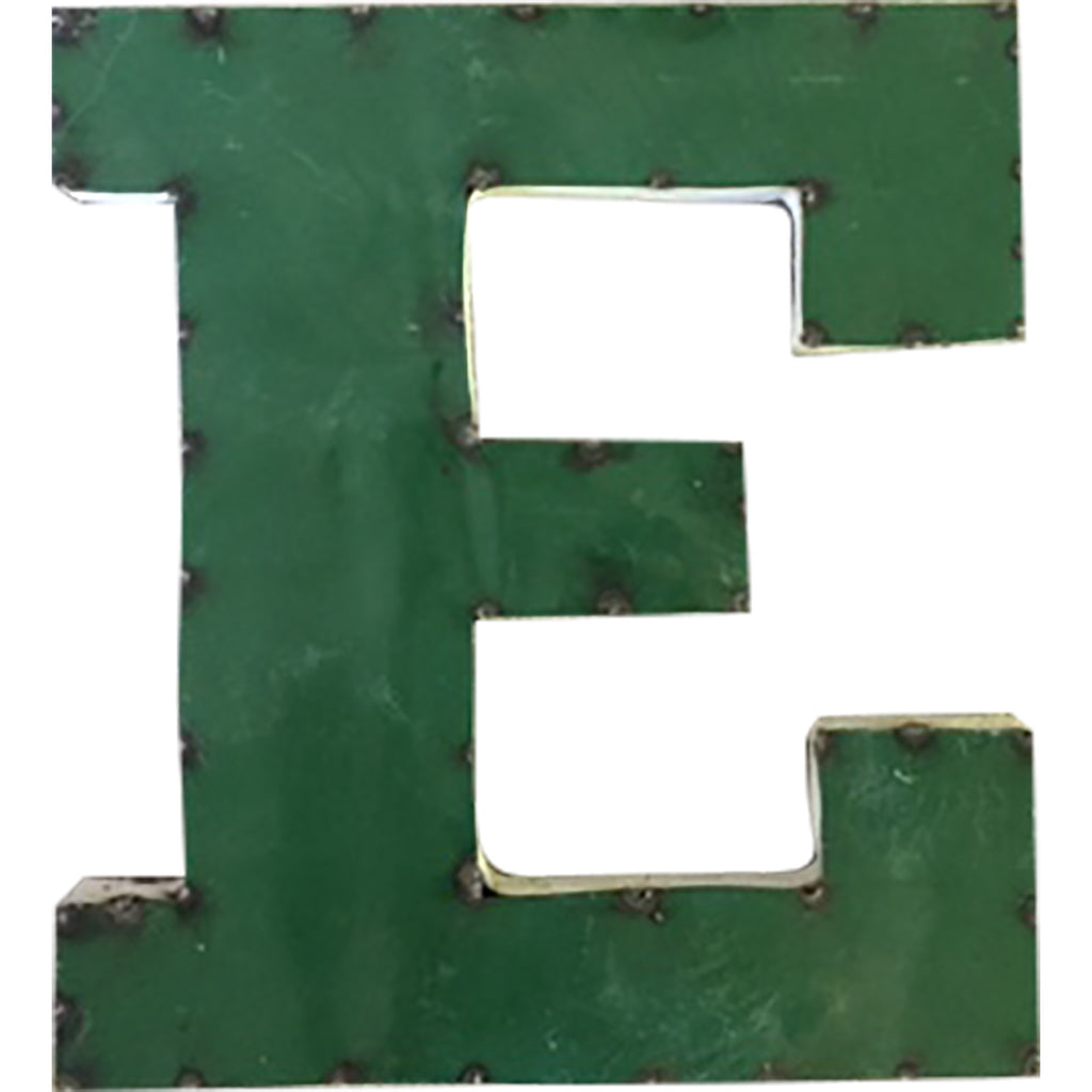 "East Michigan University ""E"" Recycled Metal Wall Decor"