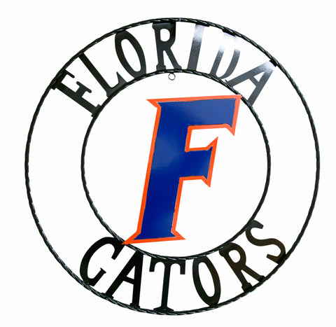 University of Florida Gators Wrought Iron Wall Decor