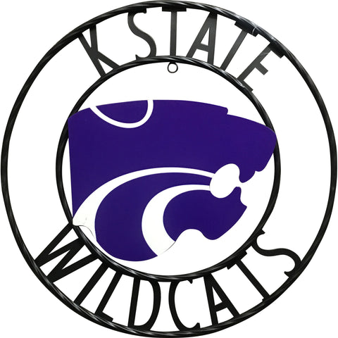 Kansas State Wildcats Wrought Iron Wall Decor