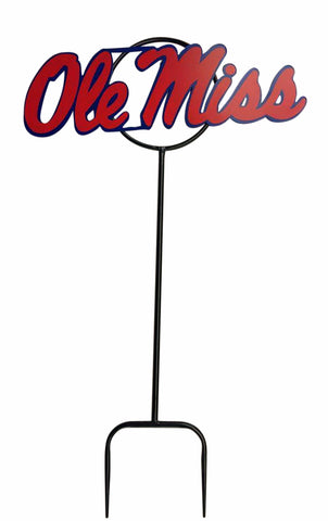 "University of Mississippi ""Ole Miss"" Wrought Iron Yard Decor"