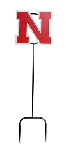 University of Nebraska Logo Wrought Iron Yard Decor