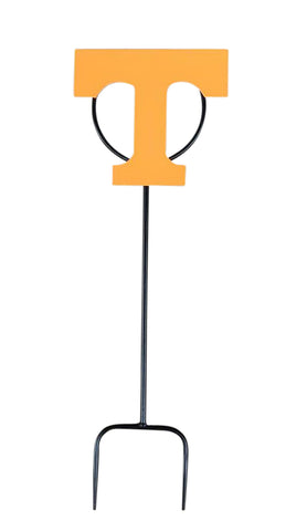 University of Tennessee Logo Wrought Iron Yard Decor