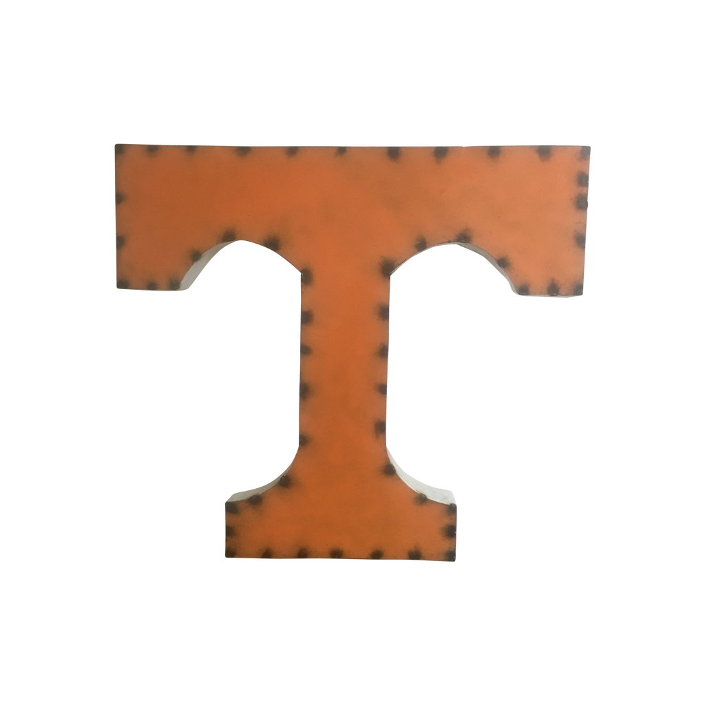 TENNESSEE VOLUNTEERS RECYCLED METAL WALL DECOR