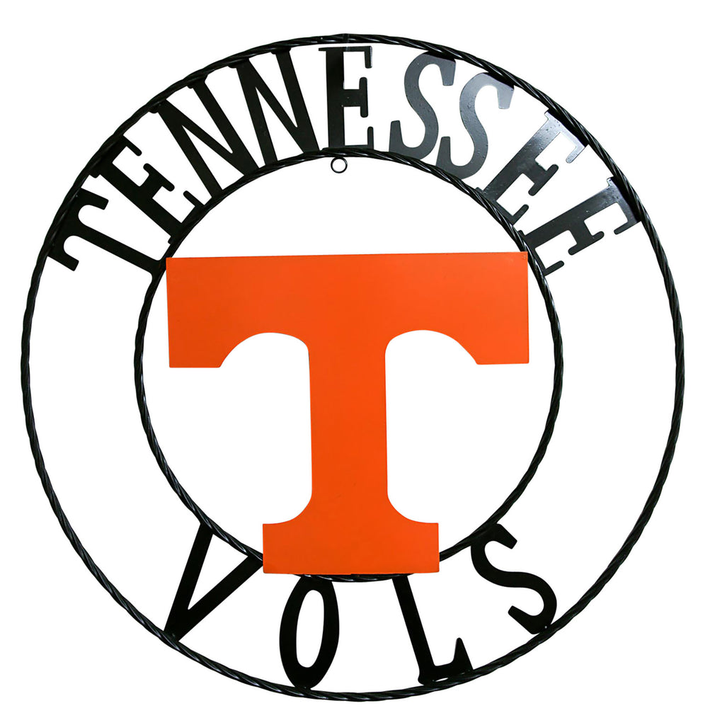 University of Tennessee Vols Wrought Iron Wall Decor