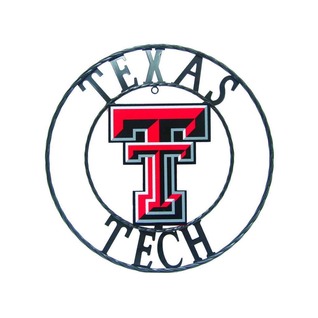 "Texas Tech University ""Double T"" Wrought Iron Wall Decor"
