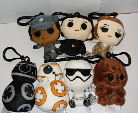 The Last Jedi Starwars Plush Key Chains