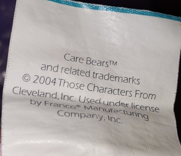 Carebears 2004 Twin Flat Sheet Used