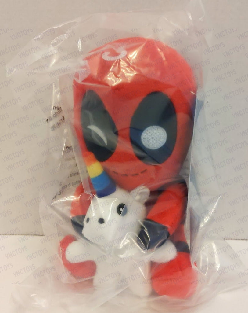 Deadpool Riding Unicorn Marvel Neca Phunny Plush