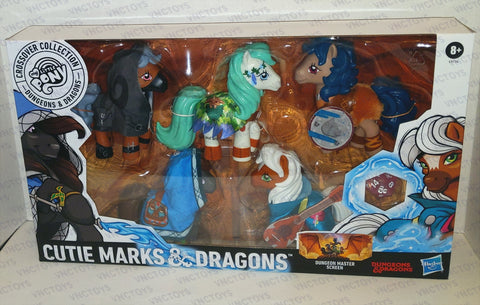 Dungeons And Dragons D&D My Little Pony Crossover Set