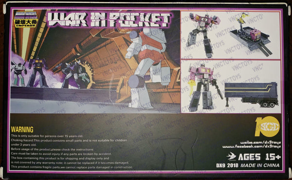 DX9 War In Pocket Dutch Purple