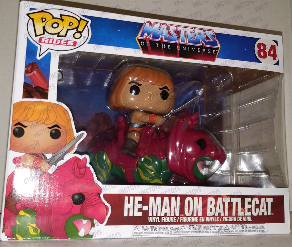 Funko POP Rides He-man On Battlecat Masters Of The Universe