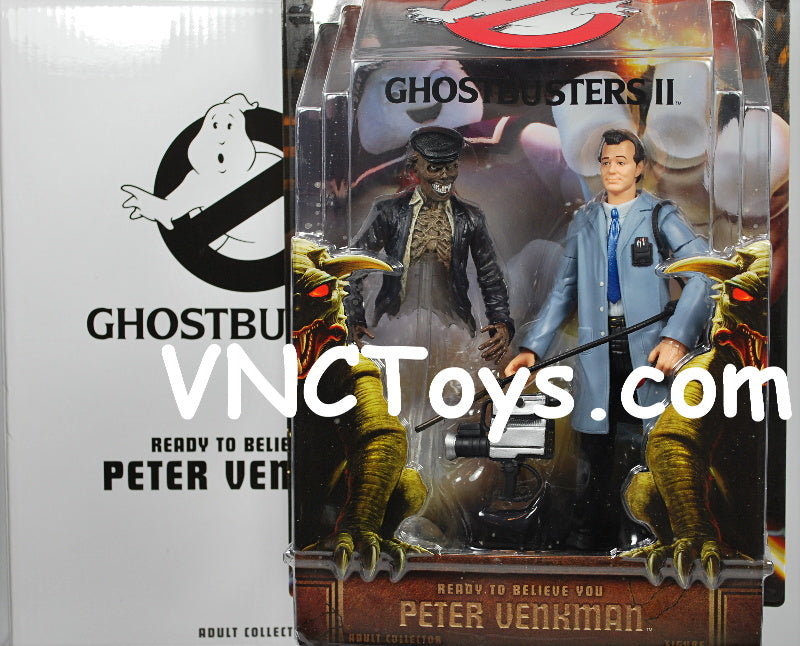Ghostbusters Peter Venkman Ready To Believe You 6 Inch Figure