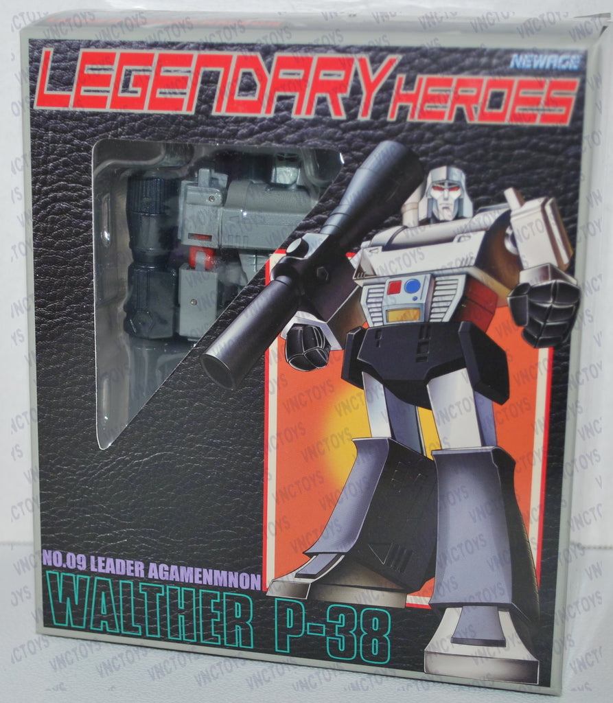 Newage Transformers Walther P-38 Megatron