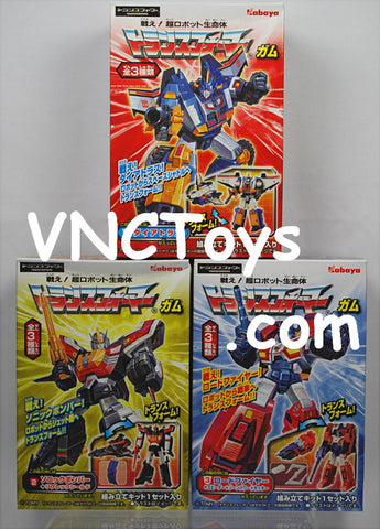 Kabaya Kits Wave 6 Transformers