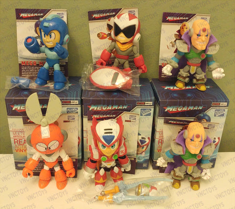 Mega Man Loyal Subjects Figures