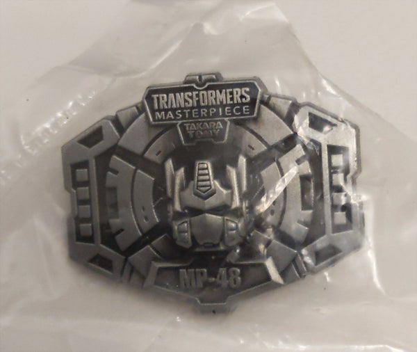 Masterpiece Transformers MP-48 Leo Convoy Beast Wars Pin
